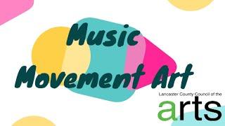 Creative Tuesdays with Liz: Music Movement Art