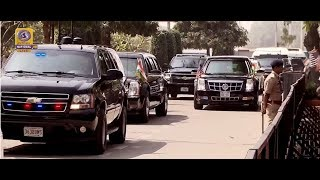 US President Donald Trump & PM Narendra Modi Road Show at Ahmadabad