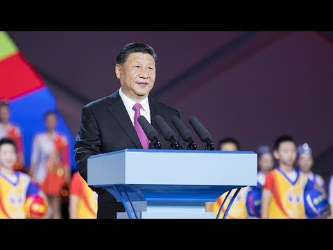 Xi Jinping declares opening of 2019 FIBA World Cup