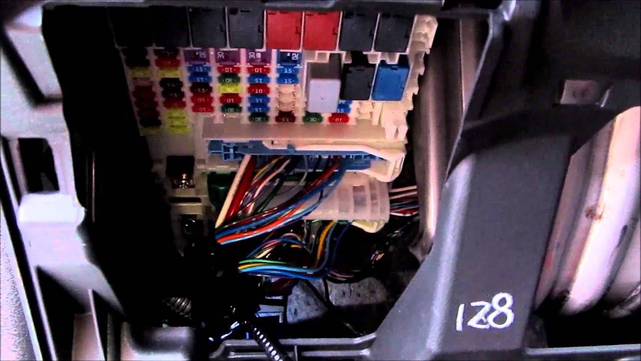 DIY Honda Fit Footwell LED install  YouTube
