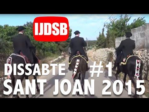 Sant Joan 2015: Primer toc, replec, caragol i Sant Joan de Missa