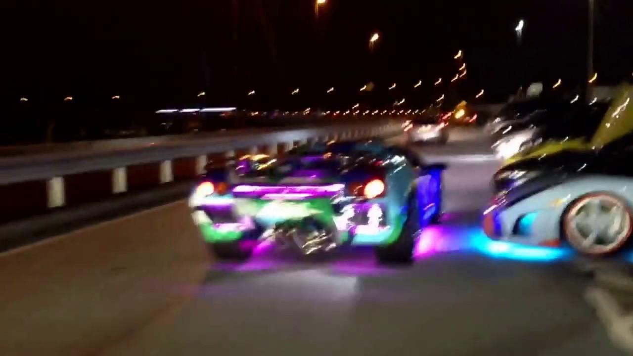 Lamborghini Diablo Roadster Led Custom In Japan Youtube
