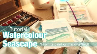 Avoiding white paint and masking fluid in watercolour painting