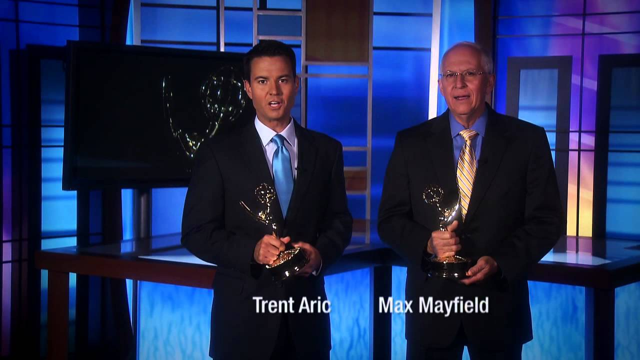 Trent Aric & Max Mayfield Emmy® Winners