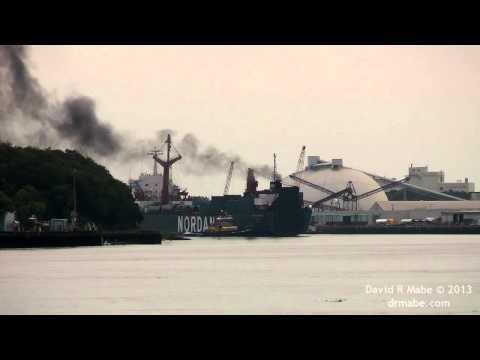 SCHACKENBORG Dry Cargo Ship in Savannah GA 7/27/13