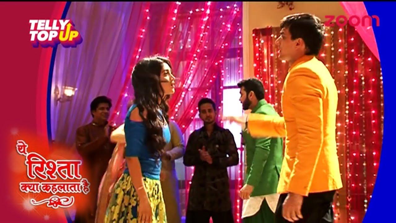 Akshara's Family Celebrates Yash And Rose's Engagement In'Yeh Rishta Kya  Kehlata Hai'   #TellyTopUp