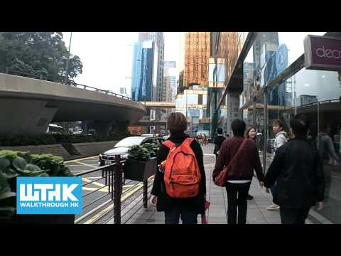 Walk from Austin station 柯士甸站 to kowloon ferry