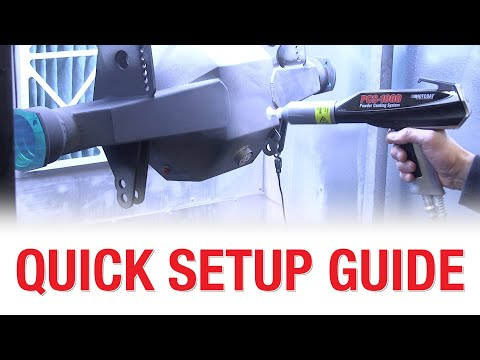 HotCoat Elite PCS-1000 - How To Achieve The BEST Powder Coating Results Possible - Eastwood