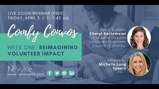 Comfy Convos: Reimagining Volunteer Impact