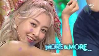 200607 트와이스(TWICE) - MORE & MORE @ SBS Inkigayo