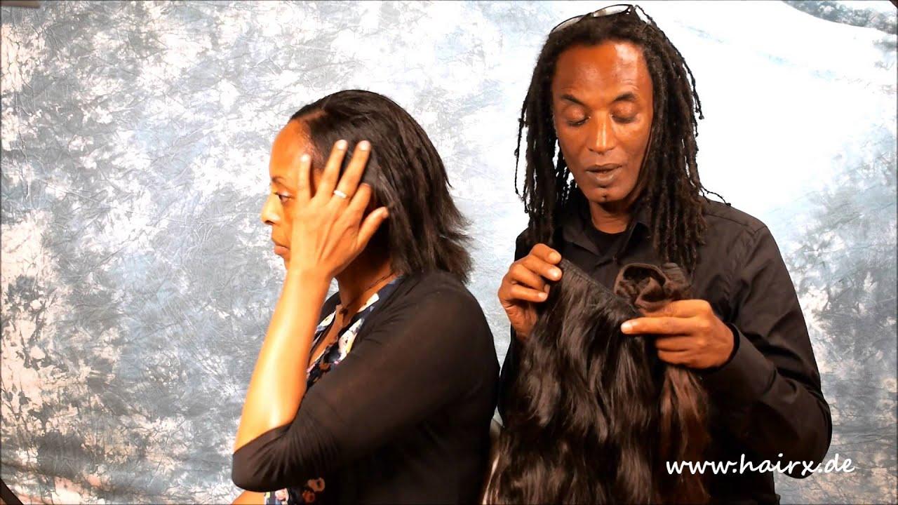 Haarverlangerung einnahen linz