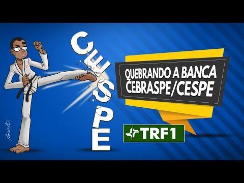 TRF 1ª Região - Quebrando a Banca CEBRASPE/CESPE - Dir. Administrativo com o prof. Rodrigo Cardoso