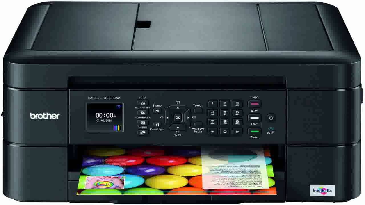 Brother Printer Mfc J680dw Wireless Color Photo Printer With Scanner