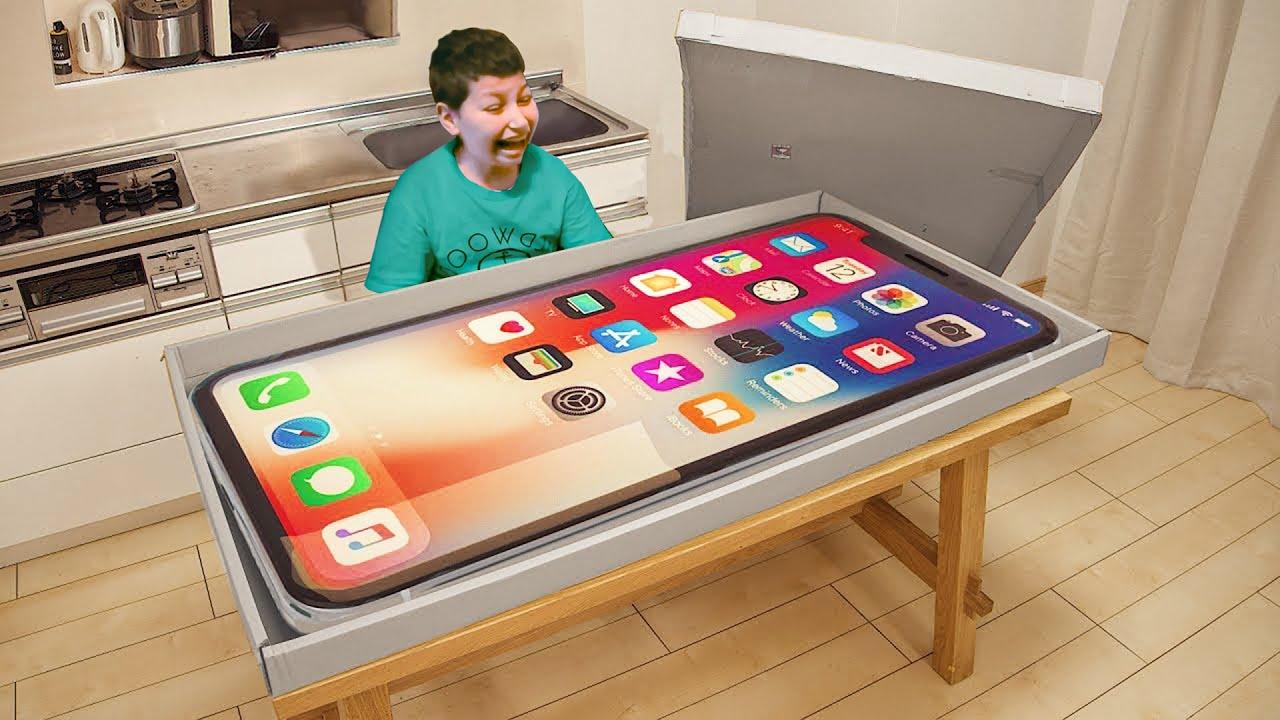 i gave him a fake iPhone 13.. (BIG MISTAKE)
