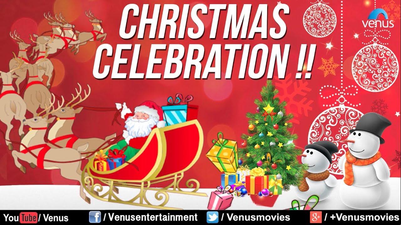 Christmas Celebration Cartoon Images.Christmas Celebration Best English Christmas Songs Audio Jukebox