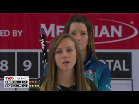 Rachel Homan vs. Kerri Einarson - 2016 Home Hardware Canada Cup of Curling - Womens Semifinal