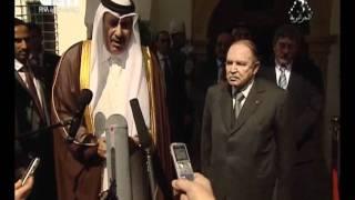 الرئيس عبد العزيز بوتفليقة يستقبل رئيس وزراء قطر