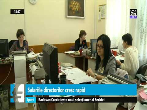 CEO's Salaries are Rapidly Increasing in Romania