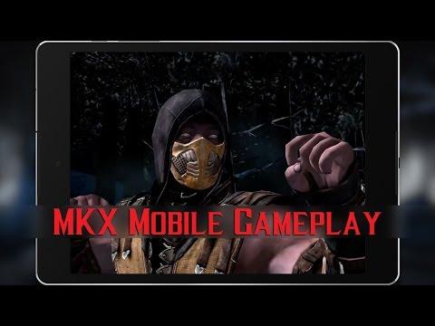 Mortal Kombat X Mobile - Gameplay