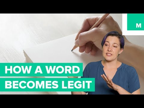 How A Word Gets Into The Dictionary - Jargonology