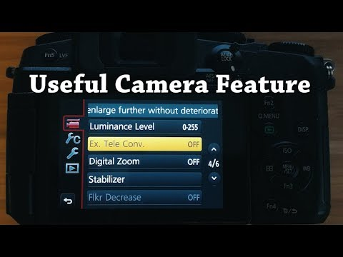 Ex. Tele Converter - Camera Feature That Could Save Your Day?!