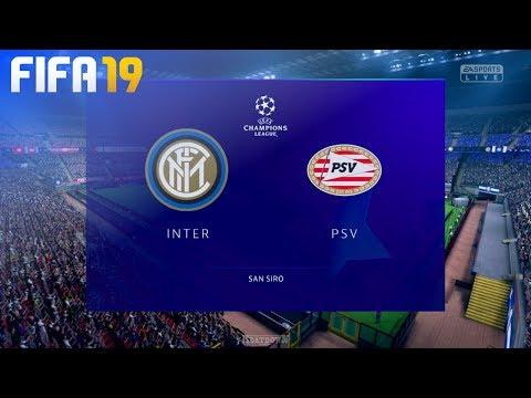 FIFA 19 - Inter Milan vs. PSV Eindhoven @ San Siro