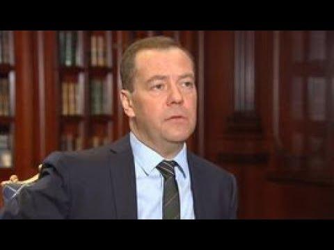 """""""Диалог"""" с Дмитрием Медведевым. Полное видео"""