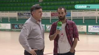 Calafell Esportiu | Declaracions després del partit CP Calafell 1-2 CP Vilanova