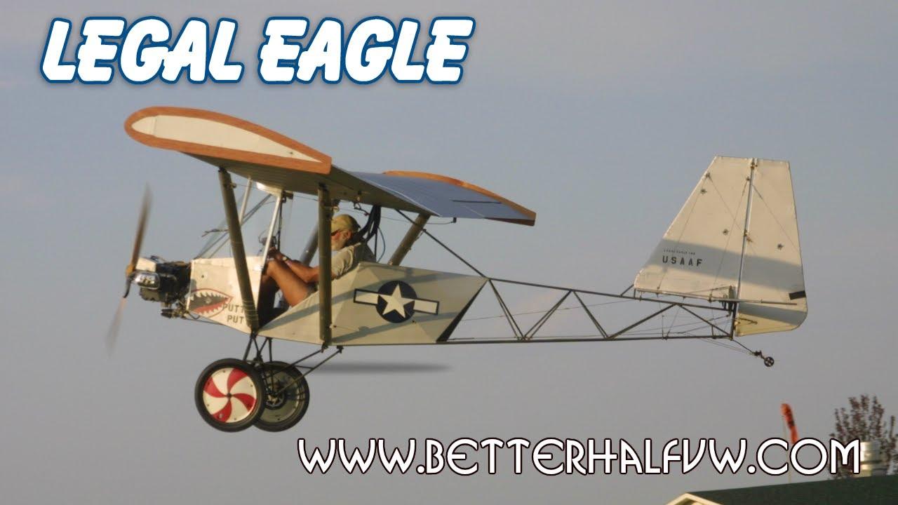 Legal Eagle Ultralight, Part 103 Legal Ultralight Aircraft, Leonard  Milholland's Legal Eagle
