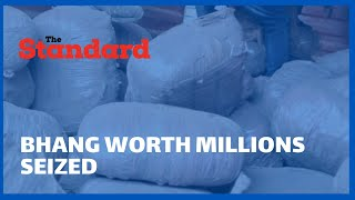 DCI nab Bhang worth millions of shillings hidden in a lorry enroute to Nairobi from Marsabit
