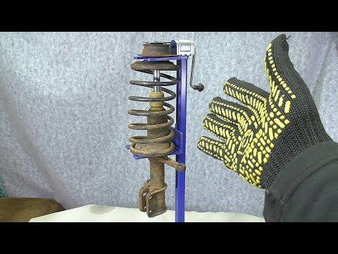 Как сделать - Съемник пружин из жигулёвского домкрата ?