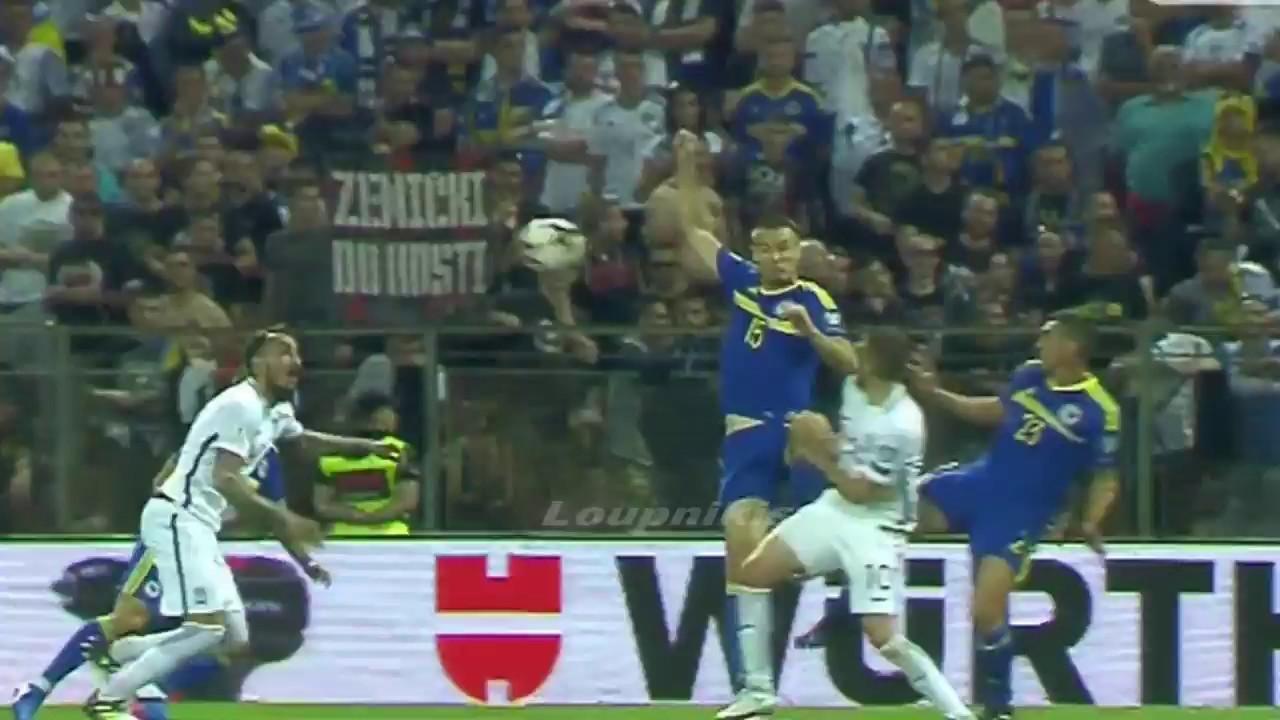 Босния и Герцеговина - Греция 0:0 видео