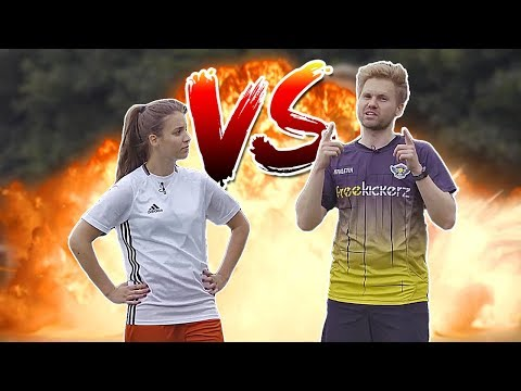 ULTIMATE FOOTBALL CHALLENGE (FK ⚽ VS. GIRL 🙋)