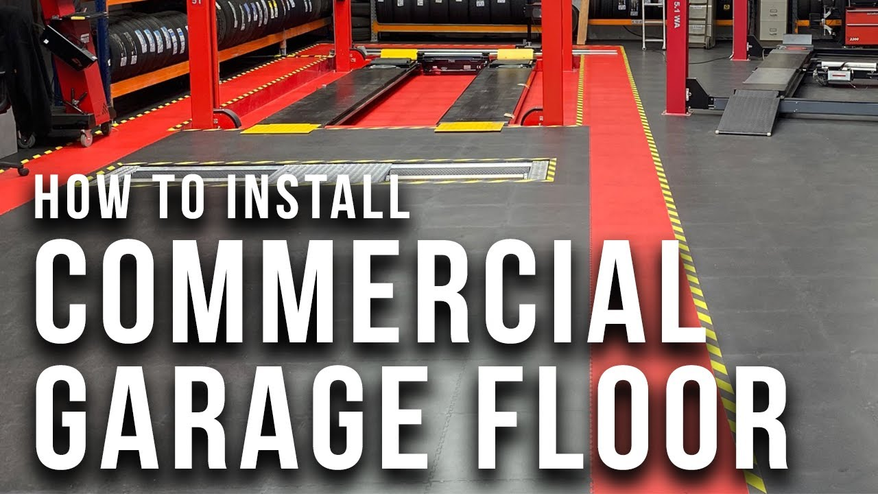 How to install garage flooring ecotile interlocking floor tiles how to install garage flooring ecotile interlocking floor tiles large garage 280 m2 dailygadgetfo Images