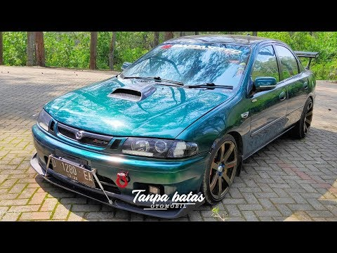 Modifikasi Mazda 323 1997 | Street Racing Look