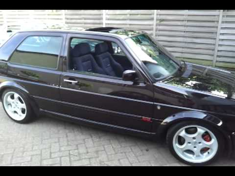 golf mk ii gti 1 8 16v wolfsburg edition youtube. Black Bedroom Furniture Sets. Home Design Ideas