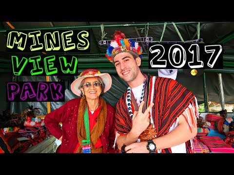SYRIAN wearing Traditional IGOROT BAHAG! | AMAZING Mines View Park 2017! 🌲
