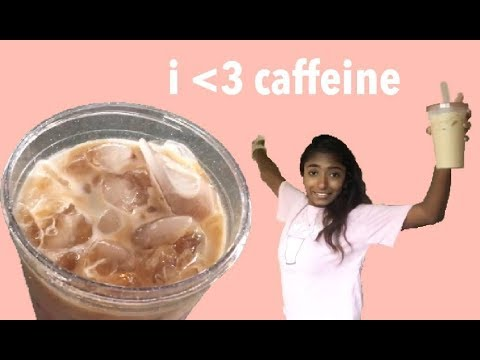 THE BEST *INSTANT* ICED COFFEE RECIPE (really easy!!)