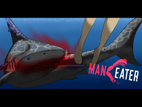 I love this game WWAAAYY too much!!! Maneater Gameplay  