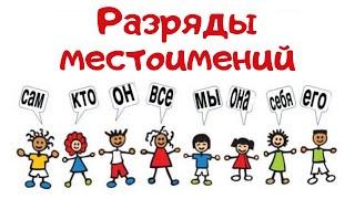 что такое МЕСТОИМЕНИЕ в русском языке? РАЗРЯДЫ МЕСТОИМЕНИЙ