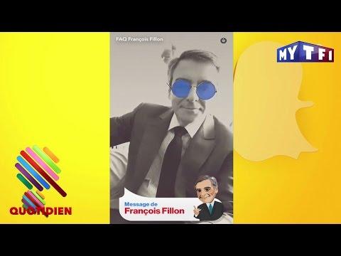 François Fillon se lâche sur Snapchat - Quotidien du 17 Avril 2017