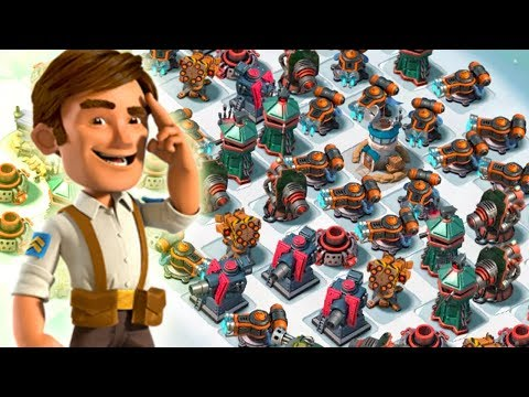 Boom Beach DESTROYING MAX Resource Bases with Grenadiers!