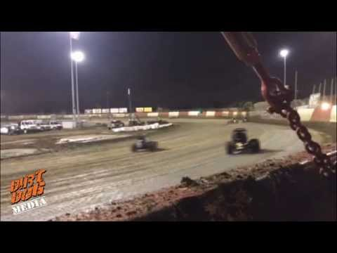 """On the Rail"": USAC Sprints at East Bay Raceway Park"
