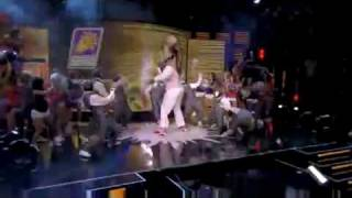 Shaq+Jabbawockeez Dancing!! 09 NBA All Star game(HQ)