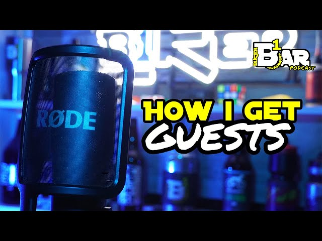 How I book people for the Podcast Livestream - B1KER Bar Bits