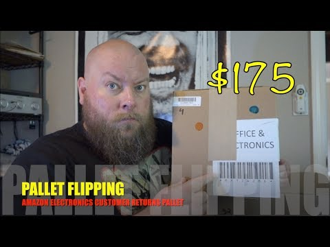 I bought a $175 Amazon Electronics Customer Returns Pallet /