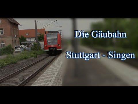 Doku: Stuttgarter Netze Teil 2 - Die Gäubahn Stuttgart - Singen am Hohentwiel (2016)