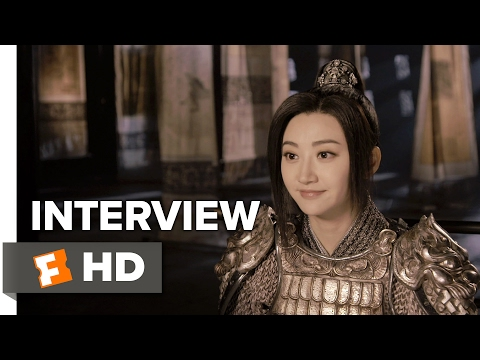 The Great Wall Interview - Tian Jing (2017) - Action Movie