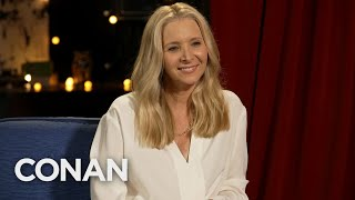 Lisa Kudrow Full Interview - CONAN on TBS