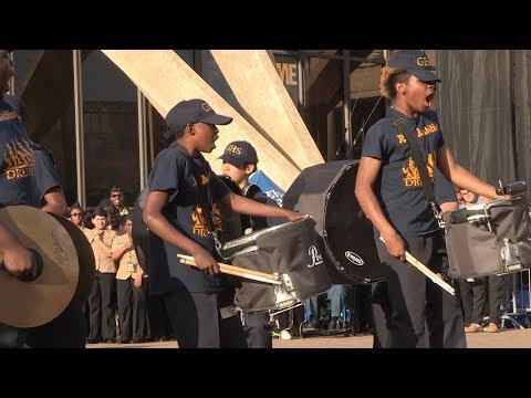 DrumLine Battle: Granby High School VS. Churchland High School